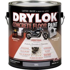 drylok® concrete floor paint gull gallon DRYLOK® Concrete Floor Paint Gull Gallon