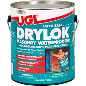 drylok waterproofer latex base gallon can, gray 2 cans/case - 27613 DRYLOK Waterproofer Latex Base Gallon Can, Gray 2 Cans/Case - 27613