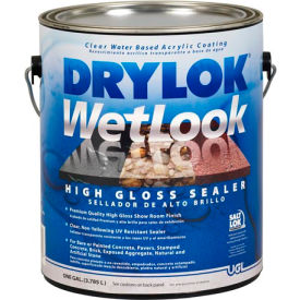 drylok® latex base wetlook high gloss sealer gallon - 28913 DRYLOK® Latex Base WetLook High Gloss Sealer Gallon - 28913
