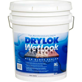 drylok® latex base wetlook high gloss sealer 5 gallon - 28915 DRYLOK® Latex Base WetLook High Gloss Sealer 5 Gallon - 28915