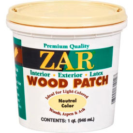 zar® wood patch neutral quart ZAR® Wood Patch Neutral Quart
