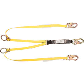 10072473 Workman; 6 Lanyard, Twin Leg, Tie Back/Snap Hook, 10072473