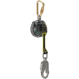 63013-00E MSA Latchways; Personal Fall Limiter, 10 Web, Single Leg, Snap Hook, 63013-00E