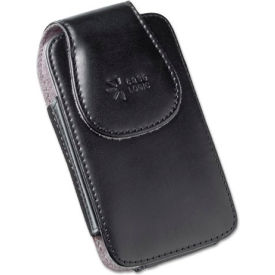 case logic® vertical phone pouch for belt, leather, black Case Logic® Vertical Phone Pouch for Belt, Leather, Black