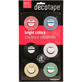 "chartpak® decorative tape, dec001, .13""w x 27l, assorted Chartpak® Decorative Tape, DEC001, .13""W X 27L, Assorted"