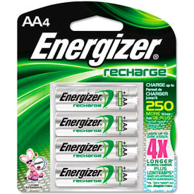 NH15BP-4 / E0801000 Energizer; AA e? NiMH Rechargeable Batteries 4 per Pack