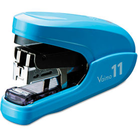 max® flat clinch light effort stapler, 35-sheet capacity, blue Max® Flat Clinch Light Effort Stapler, 35-Sheet Capacity, Blue
