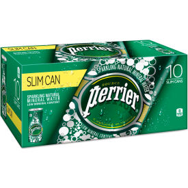 perrier® sparkling natural mineral water, 8 oz can, 10/pack, 3 pack/carton Perrier® Sparkling Natural Mineral Water, 8 Oz Can, 10/pack, 3 Pack/carton