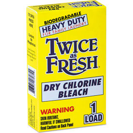 diversey twice as fresh laundry bleach powder, 2 oz. box, 100 boxes - 2979646 Diversey Twice As Fresh Laundry Bleach Powder, 2 oz. Box, 100 Boxes - 2979646