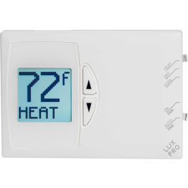 lux low voltage digital non-programmable thermostat psd111 - 1 stage heat and cool 24 vac LUX Low Voltage Digital Non-Programmable Thermostat PSD111 - 1 Stage Heat and Cool 24 VAC