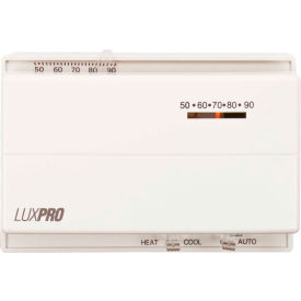 lux low voltage mechanical non-programmable thermostat psm400sa - 1 stage heat 1 cool 24 vac LUX Low Voltage Mechanical Non-Programmable Thermostat PSM400SA - 1 Stage Heat 1 Cool 24 VAC