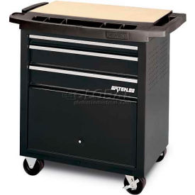 SP-PC3BK Waterloo SP-PC3BK 3-Drawer Project Center - Black
