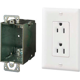 legrand® 364569-02-v1 surge protected duplex outlet kit Legrand® 364569-02-V1 Surge Protected Duplex Outlet Kit