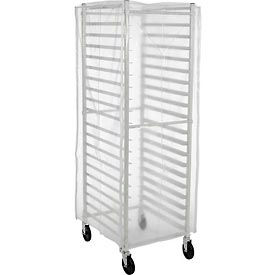 SRC-58/3Z Winholt SRC-58/3Z, Bakery Rack Cover, Clear Plastic, 3 Zippers