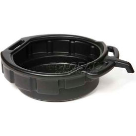 32953 Funnel King; 4-Gallon Polyethylene Oil Drain Pan w/ E-Z Grip Handles - 32953
