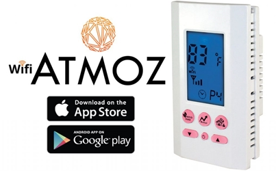 ATMOZ1-240-WIFI THERMOSTAT WIFI SP 240V 16A WHITE