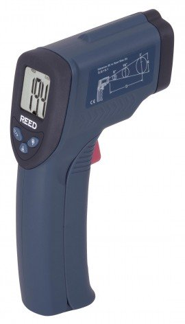 Infrared Thermometer, 8:1, 536?F (280?C) R2001, Thermometer, Hand Tools, Testers, Meters, Infrared Thermometer