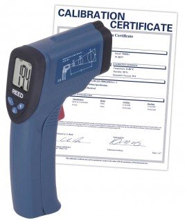 Infrared Thermometer, 8:1, 536?F (280?C), includes Traceable Certificate R2001, Thermometer, Hand Tools, Testers, Meters, Infrared Thermometer