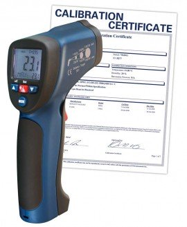 Infrared Thermometer, 30:1, 1922?F (1050?C), Integrated Type K Thermocouple, includes Traceable Certificate R2005, Thermometer, Hand Tools, Testers, Meters, Infrared Thermometer, Thermocouple