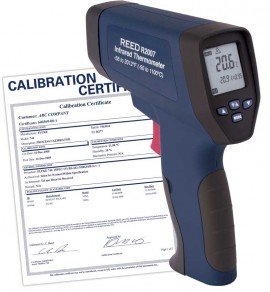R2007-NIST Dual Laser Infrared Thermometer  includes Traceable Certificate R2007, Thermometer, Hand Tools, Testers, Meters, Dual Laser, Infrared Thermometer