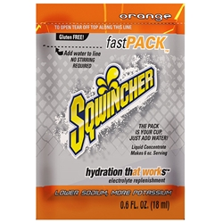 015304SQ Sqwincher® FastPack® Single Serve, 0.6 oz Packs, 6 oz Yield