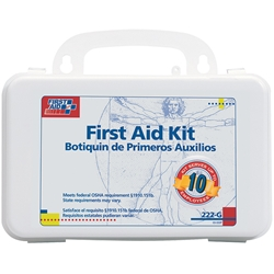 10-Person Bulk Weatherproof First Aid Kit