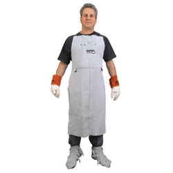 "MCR Safety® Leather Welding Aprons, 24"" x 42"""