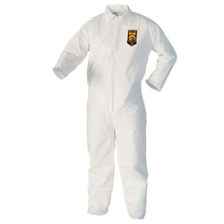 KleenGuard* A40 Liquid & Particle Protection Coveralls w/ Open Wrists & Ankles, X-Large