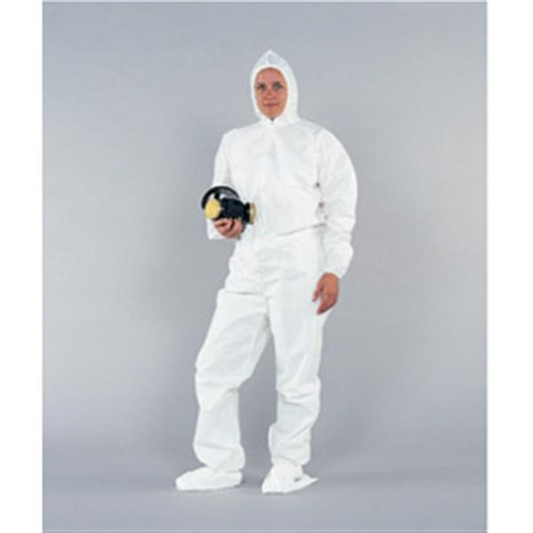49125KC2 KleenGuard* A20 Breathable Particle Protection Coveralls w/ Hood, Boots, & Elastic Back & Wrists