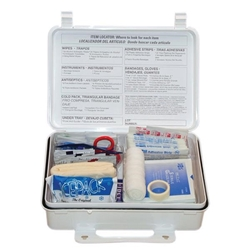 25-Person Weatherproof First Aid Kit