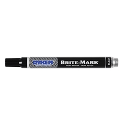 ITW ProBrands™ Brite-Mark® Medium Tip Permanent Paint Markers, Black