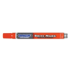 ITW ProBrands™ Brite-Mark® Medium Tip Permanent Paint Markers, Orange