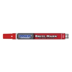 ITW ProBrands™ Brite-Mark® Medium Tip Permanent Paint Markers, Red
