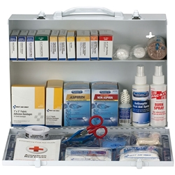 2-Shelf, 75-Person ANSI A+ First Aid Station