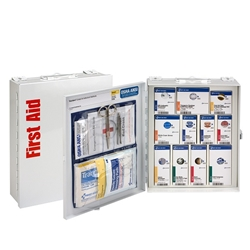 25-Person ANSI A Medium SmartCompliance First Aid Cabinet w/o Medications