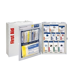 25-Person ANSI A Medium SmartCompliance Food Service First Aid Cabinet w/o Medications