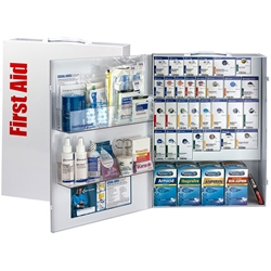 150-Person ANSI B+ XL SmartCompliance® General Business First Aid Cabinet w/ Medications