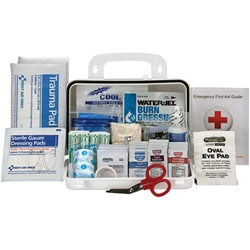 10-Person ANSI A Bulk Weatherproof First Aid Kit