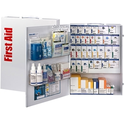 150-Person ANSI B+ XL SmartCompliance® General Business First Aid Cabinet w/o Medications