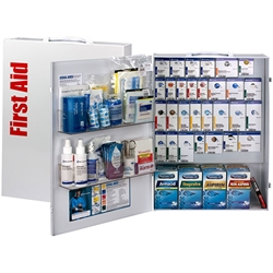 150-Person ANSI B+ XL SmartCompliance® Food Service First Aid Cabinet w/ Medications