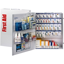 150-Person ANSI B+ XL SmartCompliance® Food Service First Aid Cabinet w/o Medications