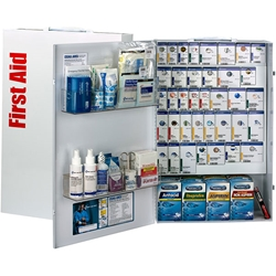 200-Person ANSI B+ XXL SmartCompliance® General Business First Aid Cabinet w/ Medications