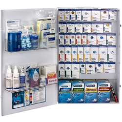 200-Person ANSI B+ XXL SmartCompliance® Food Service First Aid Cabinet w/ Medications