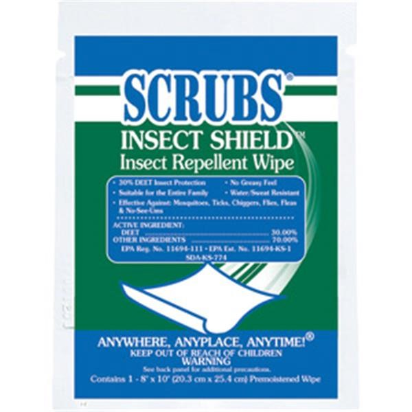 ITW ProBrands™ Scrubs® Insect Shield™ Insect Repellent Wipes