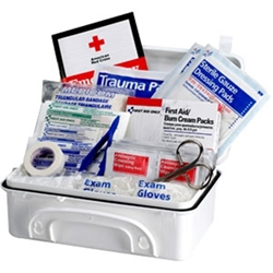 10-Person Contractor Weatherproof First Aid Kit