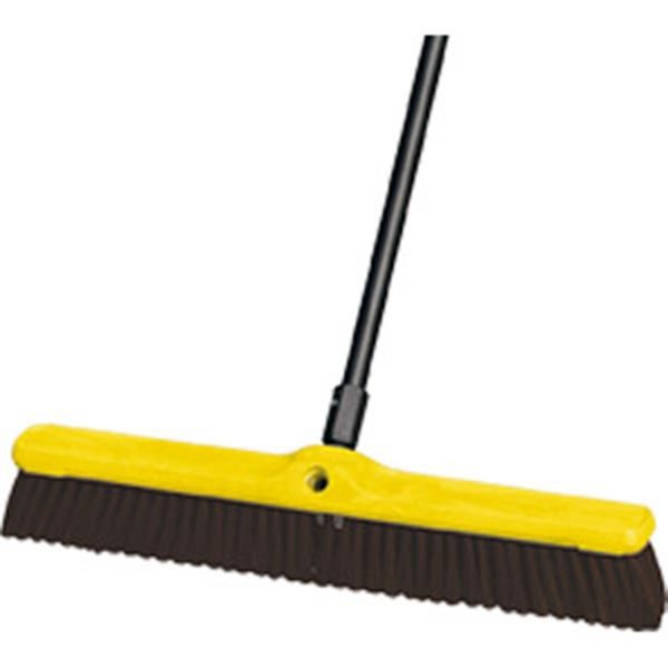 9B1700MARM Rubbermaid® Heavy-Duty Floor Sweep, Polypropylene & Polystyrene Fill