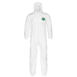 Lakeland MicroMax® NS Coveralls w/ Hood & Elastic Wrists & Ankles, X-Large, 25/Case
