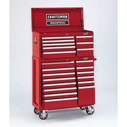 Craftsman Industrial® 5000 Series Tool Storage Units 8 Drawer Top Chest, 40""
