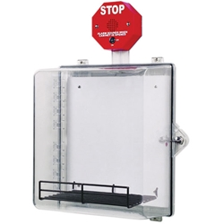 STI™ AED Cabinet w/ Stop Sign Alarm