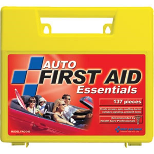 138-Piece Auto First Aid Kit